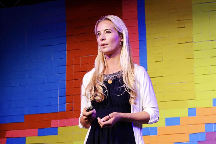 Ocean Ramsey au Ted Talk