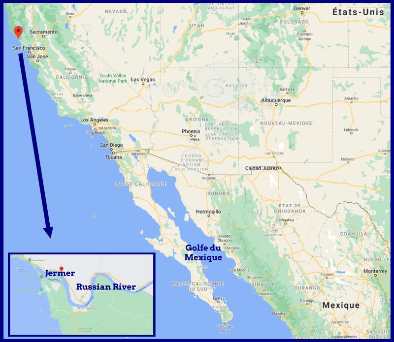 Habitat marsouin du Pacifique