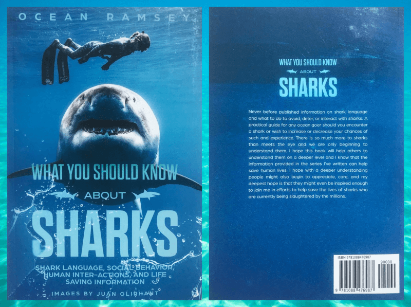Ocean Ramsey – What You Should Know About Sharks, Le Livre